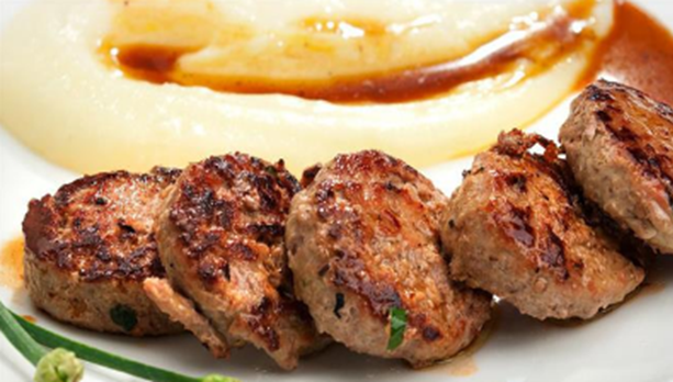 Hambúrguer light de carne