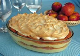 Sobremesa de maçã com canela
