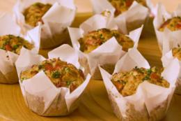 Muffin de Presunto