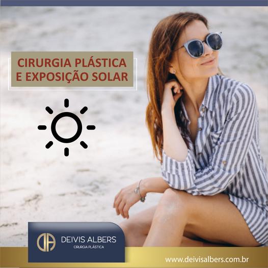 Cirurgia Plástica e exposição solar