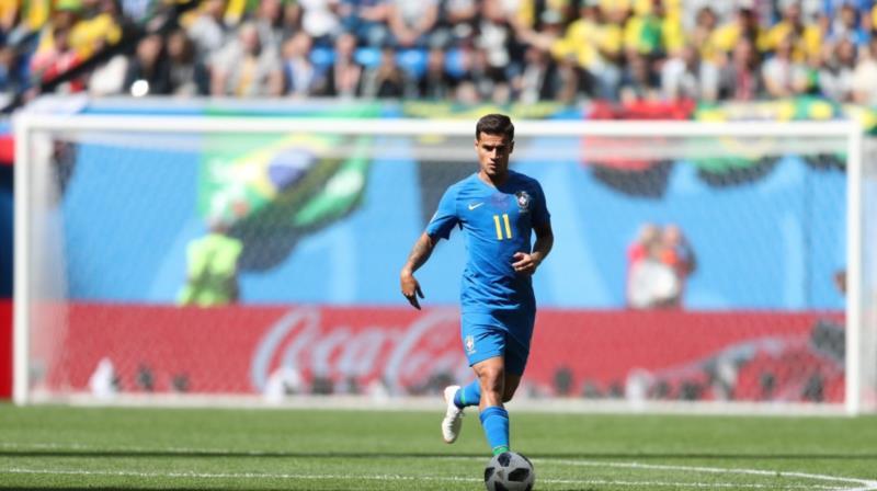 Philippe Coutinho, goleador brasileiro na Copa