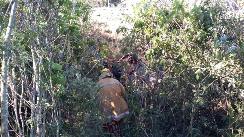 Bombeiros atuaram no resgate