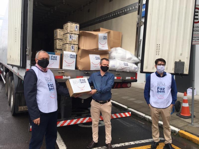 Materiais fazem parte de pacote de doações que também incluem os hospitais do município