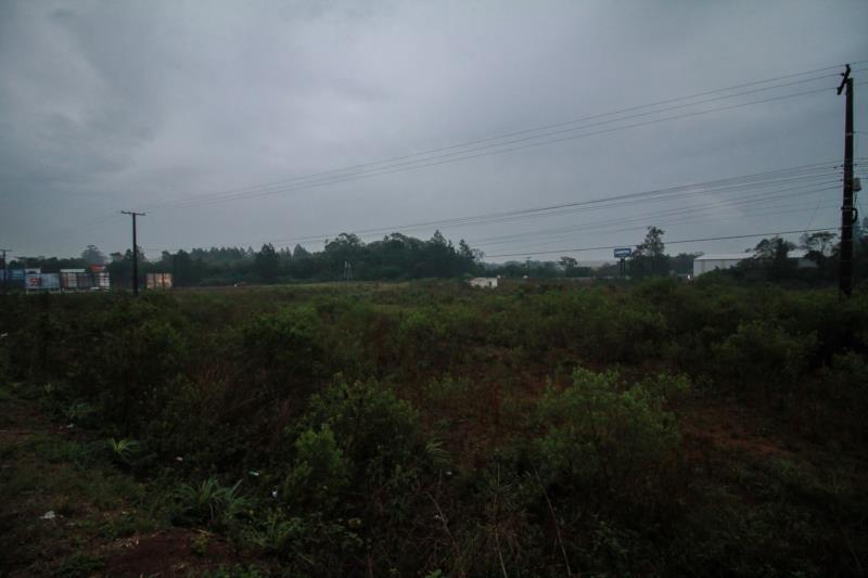 Terreno onde será construído o hotel