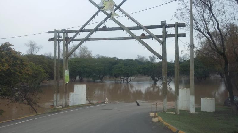 Aumento no nível do Rio Jacuí preocupa as autoridades