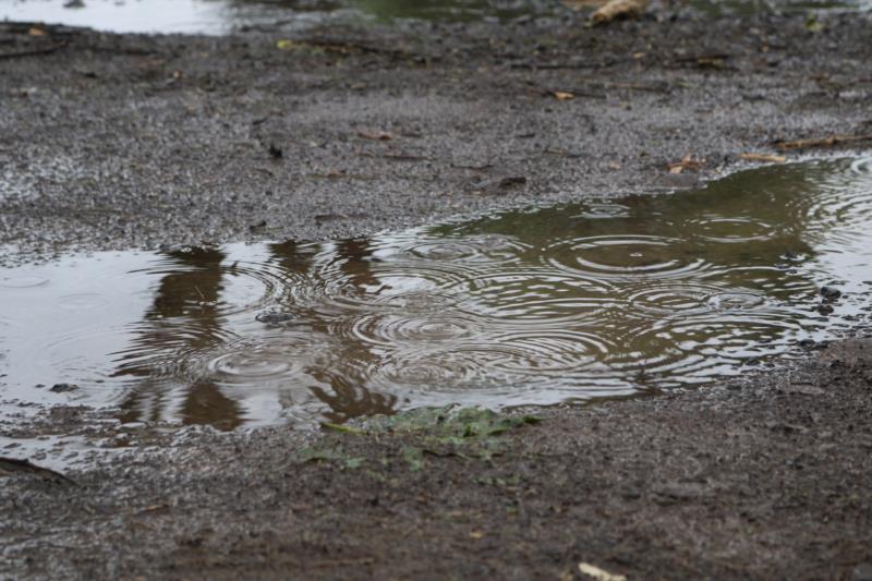Chuva deve ser registrada tanto no sábado quanto no domingo