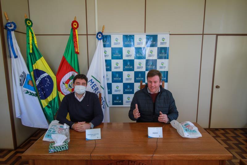 Venâncio anuncia testagem em massa de prevalência do Coronavírus no município