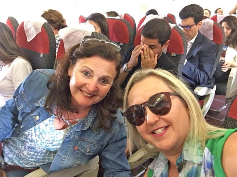 Viajar é uma das coisas que as amigas mais gostam de fazer juntas