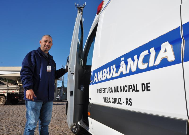 Ismael Xavier atua na Saúde em Vera Cruz, mas já passou pelo SAMU e Santa Cruz Rodovias