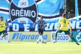 Grêmio empata em 1 a 1 com o Ypiranga