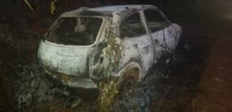 Corpo é encontrado dentro de carro incendiado no interior em Venâncio Aires