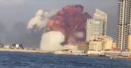 Parada não programada no porto de Beirute levou ao desastre