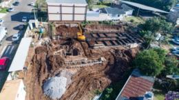 Como estão as obras dos postos sustentáveis em Santa Cruz?