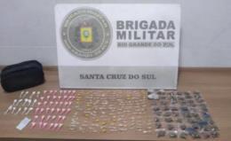 Homem é preso por tráfico de drogas no Bairro Pedreira