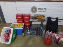 BM termina com festa clandestina e apreende arma de fogo e munições em Rio Pardo