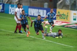 Grêmio estreia com vitória sobre o Fluminense, no Brasileirão