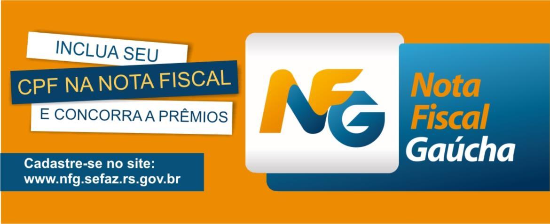 Cadastre-se no Nota Fiscal Gaúcha