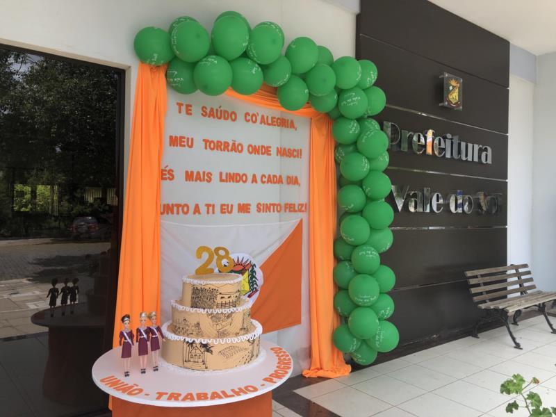 Decoração especial e apresentação dos trajes das Soberanas vão marcar comemoração dos 28 anos de Vale do Sol