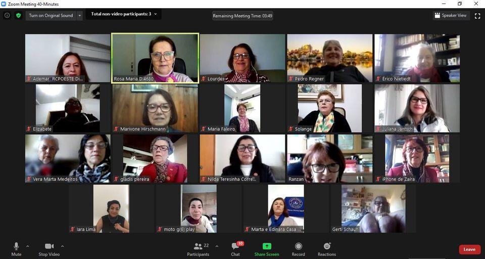 Coordenadoria e Casas da Amizade no mundo virtual