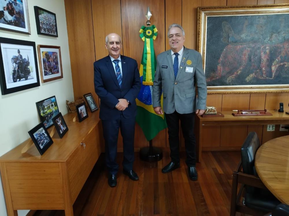 General Luiz Eduardo Ramos e Gov. Tabajara Ramalho de Andrade