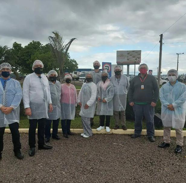 Visita do governador a Rio Pardo