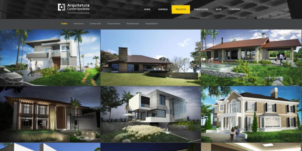 Arquitetura Contemporânea - Santa Cruz do Sul - RS